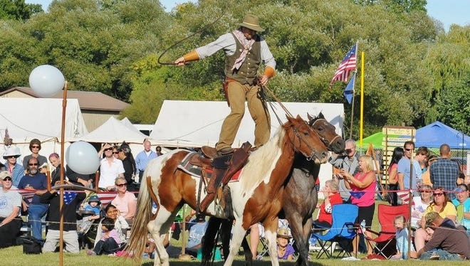 On June 23 and 24, visitors to the Wade House Historic Site will spend the day amidst the legends of the Wild West, including the likes of Buffalo Bill and Annie Oakley, and take in Wild West-inspired shows.