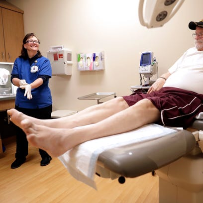 Nurses at wound care clinic help patients on 'long road' to healing