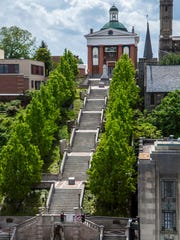 Lynchburg Courthouse and Monument Terrace, Lynchburg