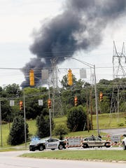 Tennessee Train Fire 2