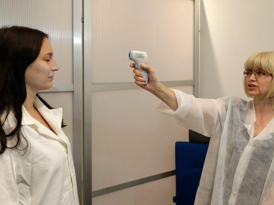 Czech Republic Ebola Airport Screening