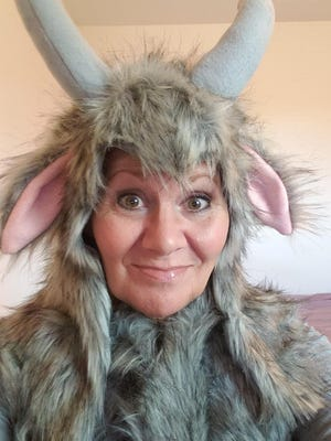 """On Dec. 22, Dawn Bohm of Sturgis will be the """"Let's Make A Deal"""" contestant in the goat costume."""