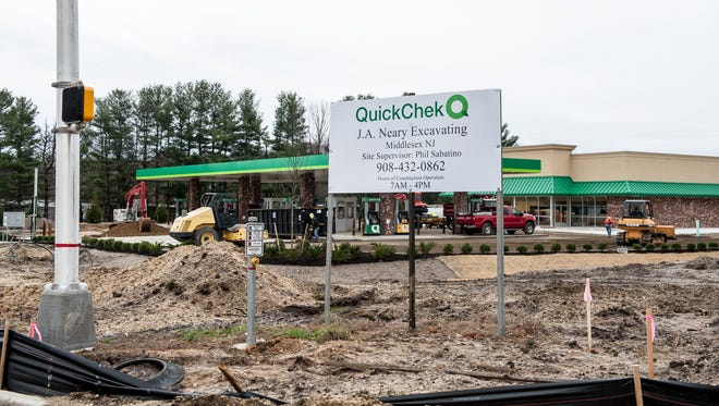 This QuickChek is being built at the intersection of Colts Neck Road and Route 33 in Howell.