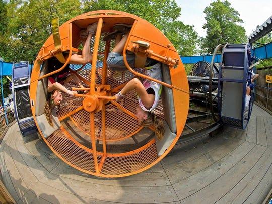 The Looper at Knoebel's Amusement Resort in Elysburg,