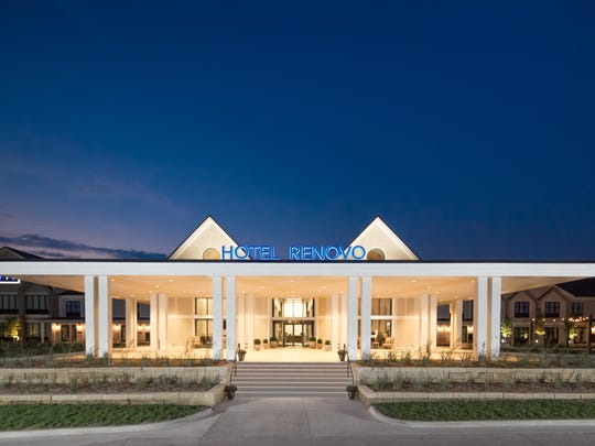 The new Hotel Renovo in Urbandale is next door to the iconic Machine Shed restaurant and Living History Farms.