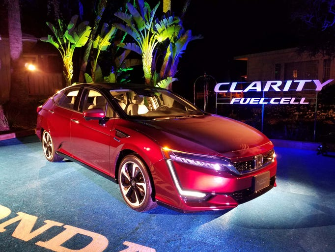 The 2017 Honda Clarity Fuel Cell is only being offered