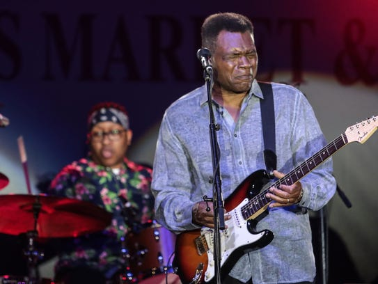 """Bluesman Robert Cray will headline one of three """"Stars at the Shell"""" fundraising concerts at Overton Park on July 13."""