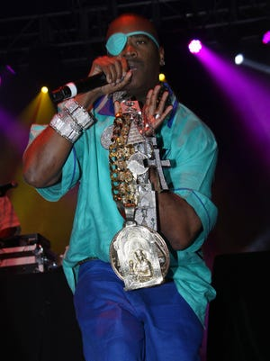 Rapper Slick Rick performs Aug., 19, 2012 in Chicago. He performs in Springfield May 11.