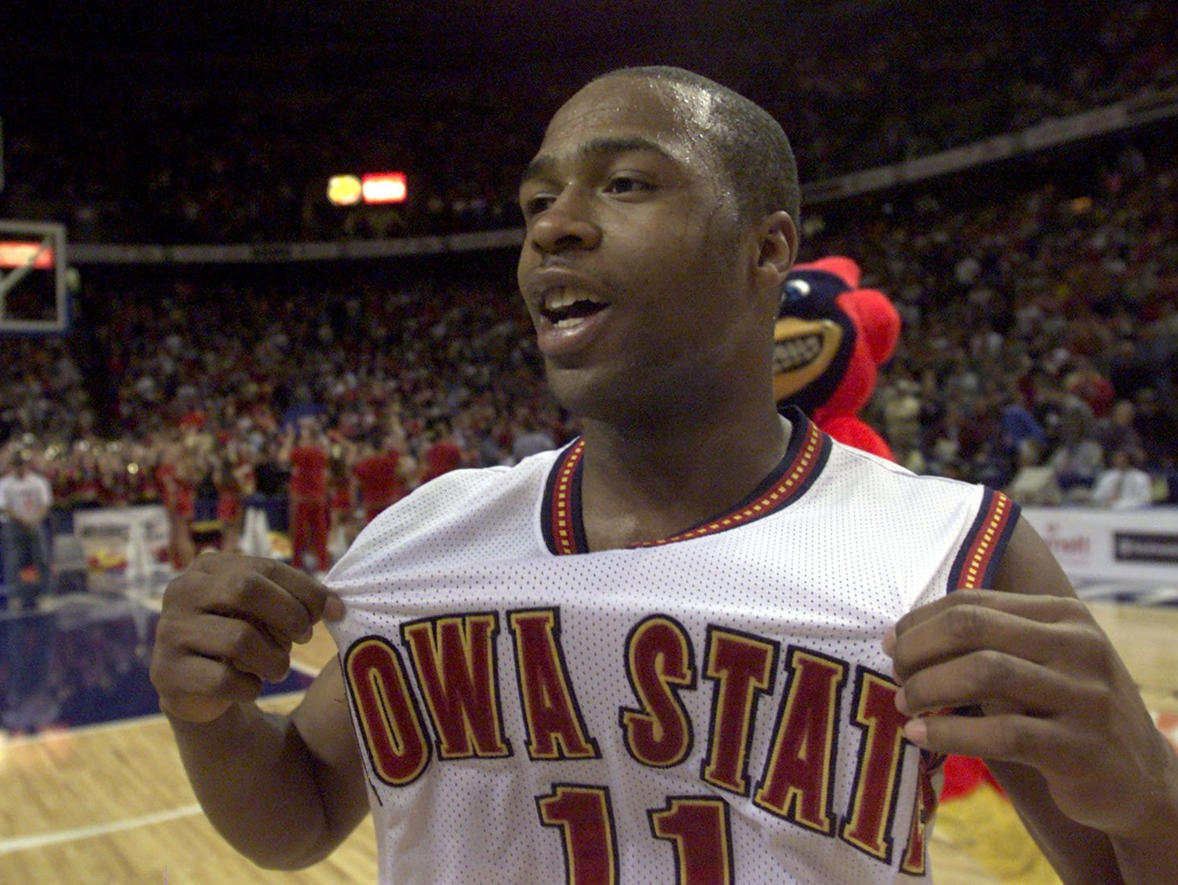 Point guard Jamaal Tinsley was Iowa State's fearless