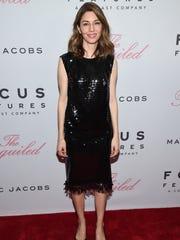 Director Sofia Coppola attends the premiere of Focus