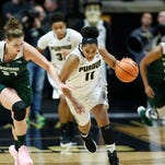 Michigan State's size, depth wear down Purdue women's basketball