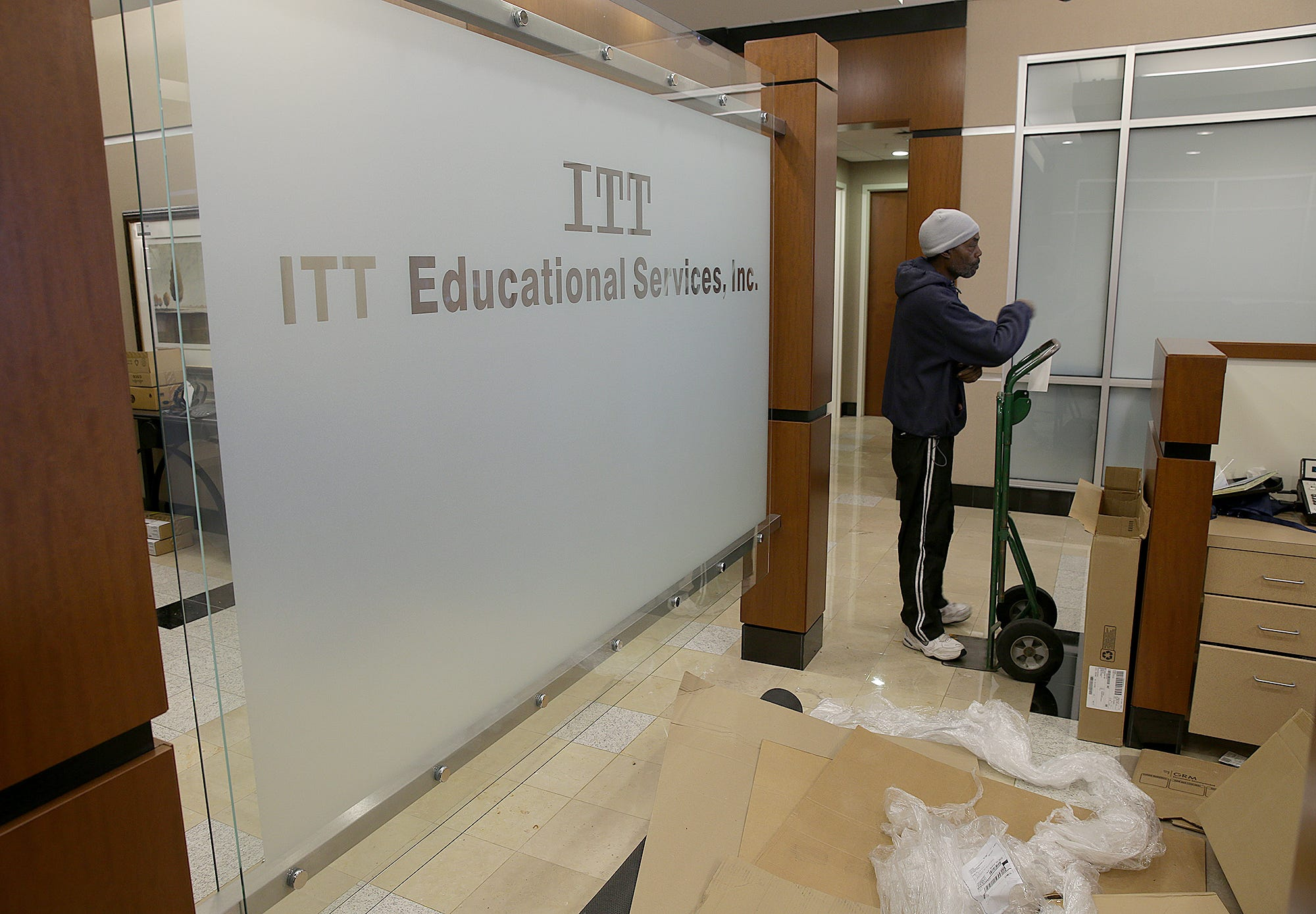 ITT Tech office furniture and equipment to be sold at auction