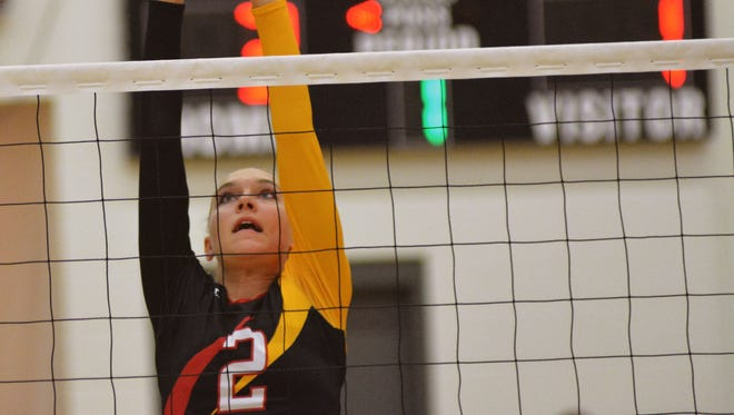 Rylee Meloy and the Centennial Hawks open District 3-6A play Tuesday night against Hobbs.
