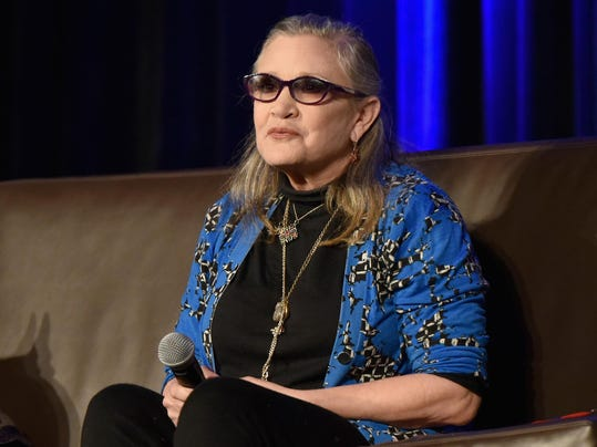 FILE: Carrie Fisher Reportedly Suffers Heart Attack