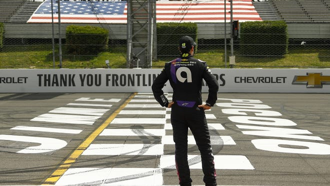 This year has hardly been the farewell tour Jimmie Johnson envisioned when he said 2020 would be his final season of full-time NASCAR racing. The seven-time champion has had to say his goodbyes at empty race tracks and his streak of 663 consecutive races ended after testing positive for the coronavirus, but he's since tested negative and is cleared to return.