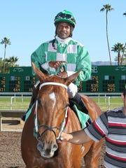 Jockey Andrew Ramgeet