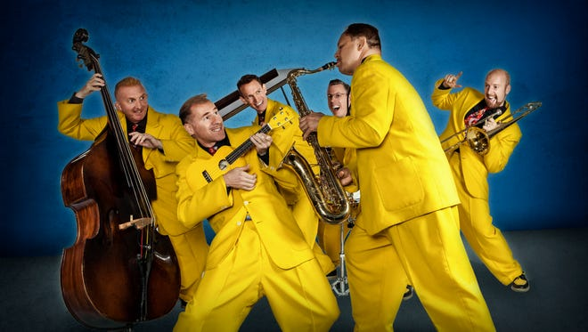 The Jive Aces will perform Thursday, April 6 at Pruis Hall.