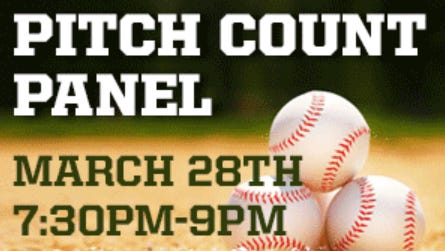 The Journal News and lohud.com will host a discussion on youth pitching on March 28 in New Rochelle.