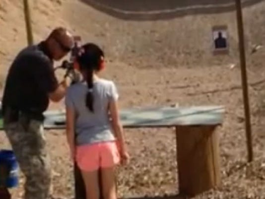 Gun instructor Charles Vacca