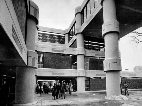 The Kresge-Ford building at the College for Creative