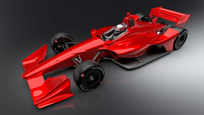 "IndyCar released the ""NEXT"" concept images of the car that will be used by all Verizon IndyCar Series competitors in 2018."