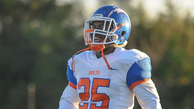 Millville's Zack Douglas warms up before Friday's game against Atlantic City.