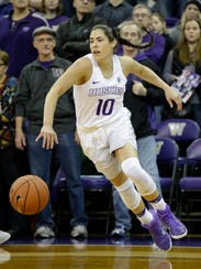 Washington's Kelsey Plum chose the Huskies over a number