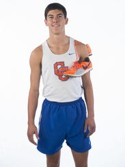 Gavin Cooper of Campbell County High School on Thursday,