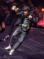 Justin Timberlake plays a sold out show at FedExForum on Wednesday. Timberlake will headline the venue again in January.