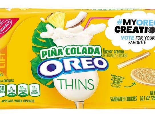 Piña Colada Oreo Thins.