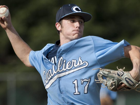 Central Valley Christian's Dalton Daily pitches against