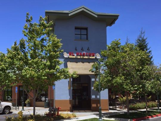 Entrance way at Creekbridge Village Shopping Center, Northeast Salinas