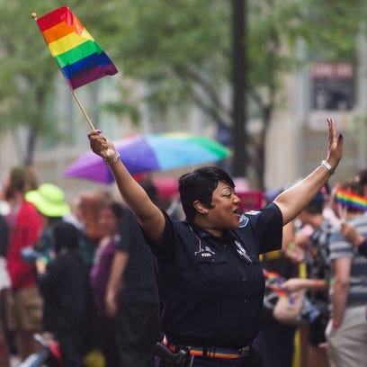 Corporal Dani Woods, LGBT Liaison for the Detroit Police