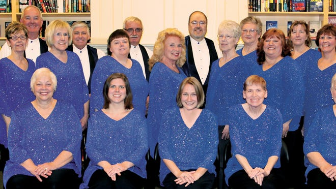 Florence Community Choir members perform at several local events, including a benefit concert on April 26 with St. Paul's Church choir.