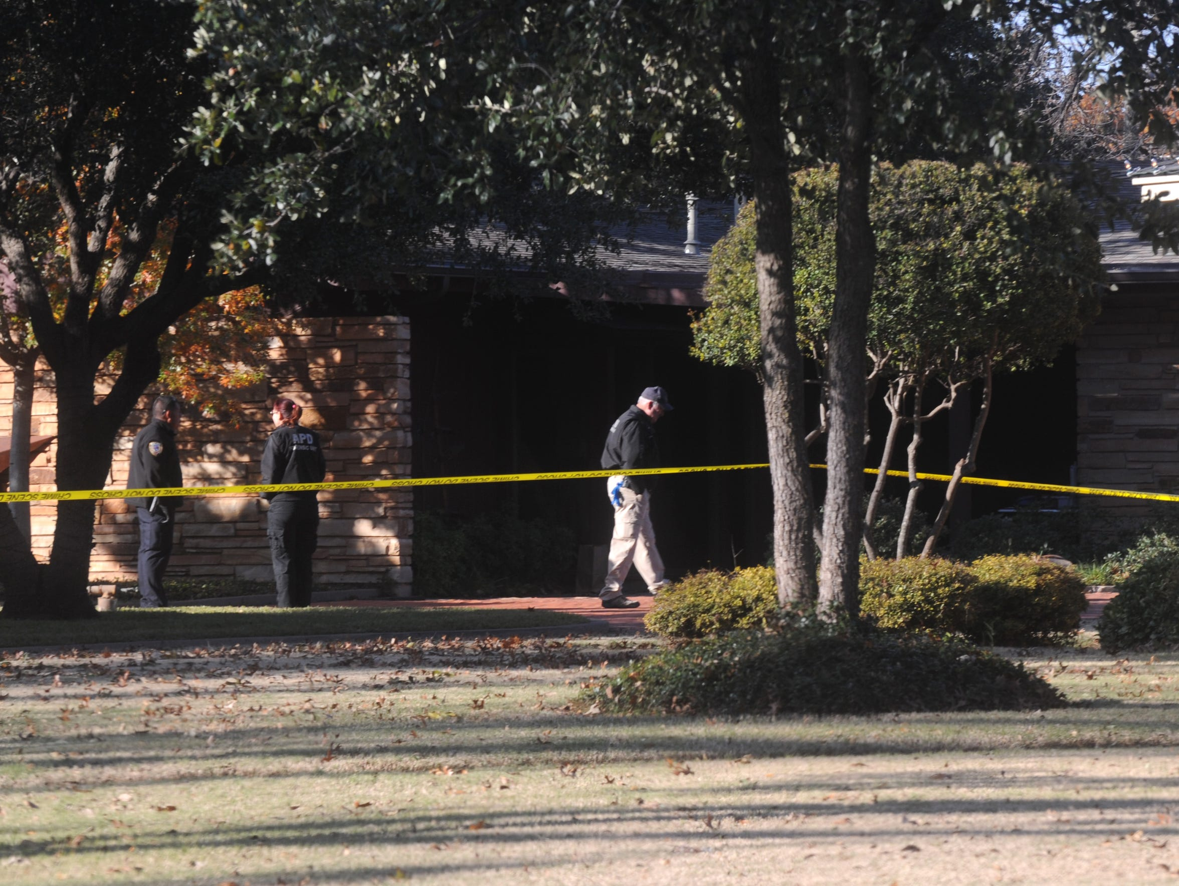 Abilene forensic unit officers prepare to investigate