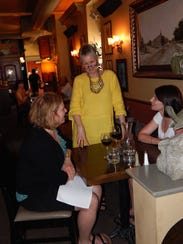 Café Dodici owner Lorraine Williams catches up with