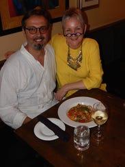 Lorraine Williams and her Italian-born husband, Alessandro,