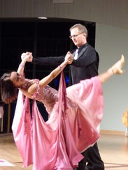 While his wife, Carol, competed in last year's Dancing