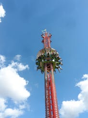 The Super Shot was among the most popular thrill rides