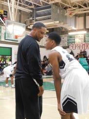 Northwest High boys basketball coach Chester Randell
