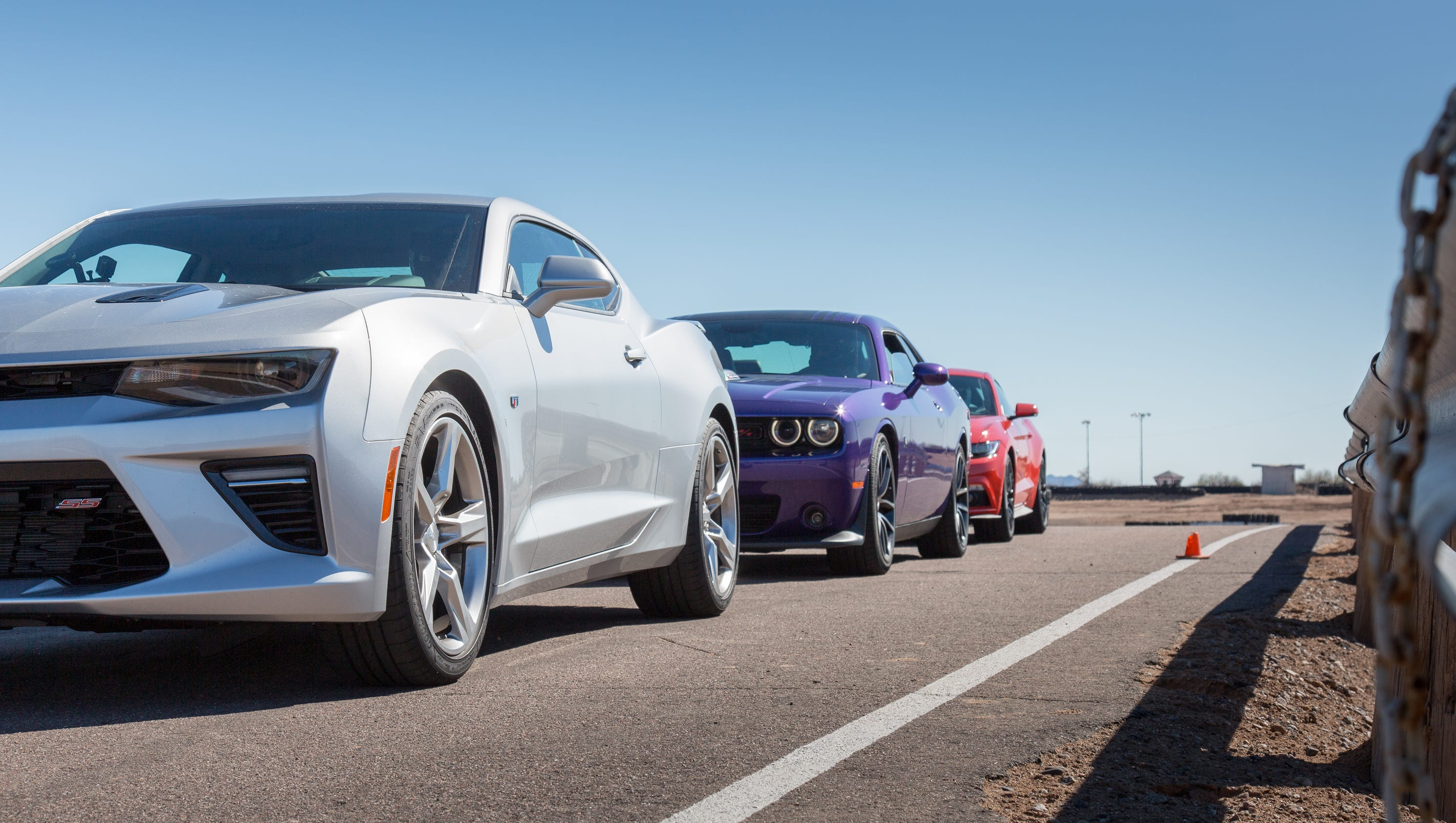 Puny ponies? How muscle cars do in crash tests