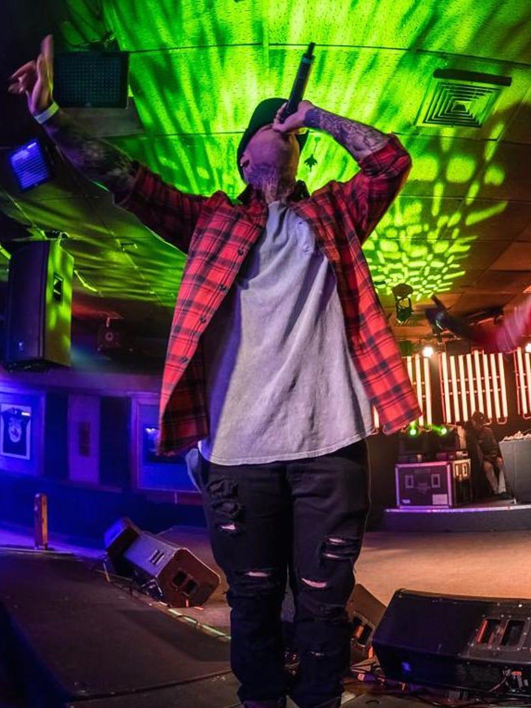 Hip-hop artist Bobby Capri performs at Shaka's Live