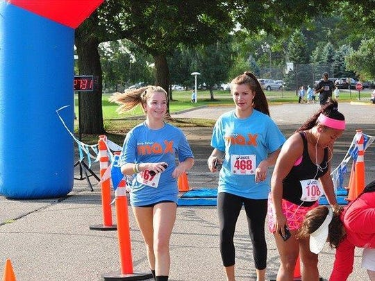 Runners participate Saturday at Orchard Lake St. Mary's in a 5K race for the Live Like Max Foundation.