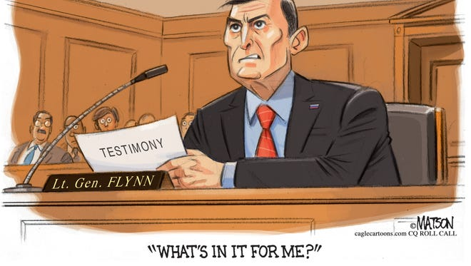 Lt General Flynn Seeks Immunity Deal