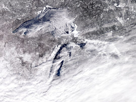 The Great Lakes — Superior, Michigan, Huron, Erie and
