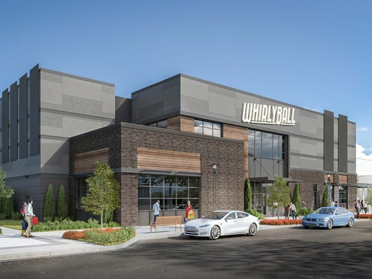 In addition to whirlyball, the proposed WhirlyBall Restaurant Entertainment Center will offer bowling, laser tag, a bar, restaurant and event spaces. The facility would be at the former Sears area of Brookfield Square, 95 Moorland Road.