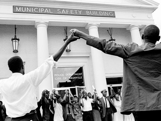 """The """"We Shall Overcome: Civil Rights and the Nashville"""
