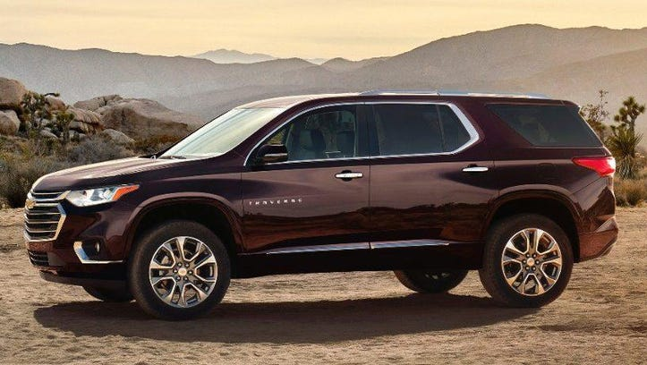 Chevrolet gave its new midsize SUV a sportier exterior