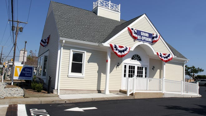 Valley National Bank has reopened its Sea Bright branch, which was destroyed in superstorm Sandy.