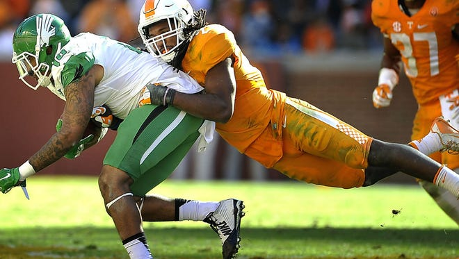 Linebacker Jalen Reeves-Maybin will receive an approximation of where he will be selected in the NFL Draft before making a decision about his senior year.